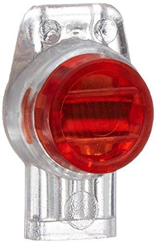 rc-junter dbr2 – Pack de 10 Connecteurs étanche pour 2 cables electriques, couleur rouge