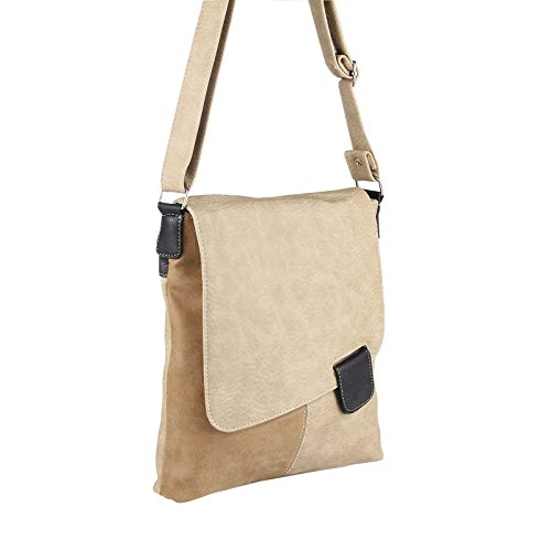 OBC Only-Beautiful-Couture Borsa Messenger - Cognac, 27x27x8 cm (BxHxT) talpa