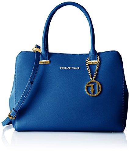 trussardi-jeans-by-trussardi-womens-75b491xx53-top-handle-bag-blue-blu-blue-royal