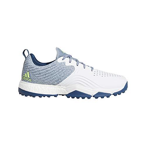adidas Adipower 4orged, Scarpe da Golf Uomo, Bianco (Azul/Blanco F34193), 42 2/3 EU