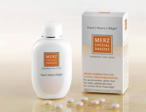 MERZ SPEZIAL 60 dragees - Healthy Skin Shiny Hair Strong Nails Beauty Supplement by Merz