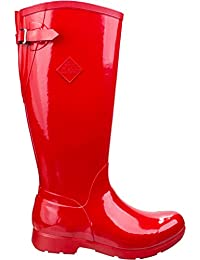Hale - Doublure Chaude Cuissardes Haut Femme, Noir (Black/Hot Pink), 42 EU (8 UK)The Original Muck Boot Company