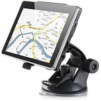 Maxfind de 5 pulgadas de navegación GPS de coches 8G de pantalla táctil HD con la vida de mapas y tráfico