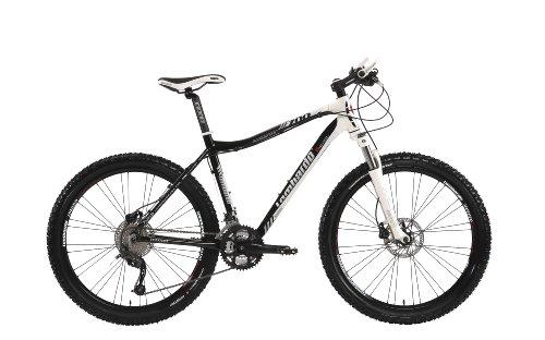 Lombardo Men's Alverstone 700 27-Speed Alloy Performance Mountain Bike – Black/White, 20.5 Inch