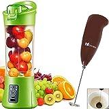 #9: ShoppoStreet Plastic Electric Rechargeable Self Blending Portable Juicer Cup (Multicolour)