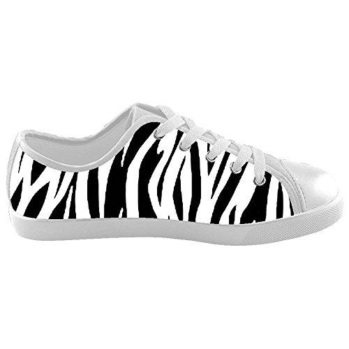Dalliy zebra stripe Boy's High-top Canvas shoes Schuhe Footwear Sneakers shoes Schuhe B