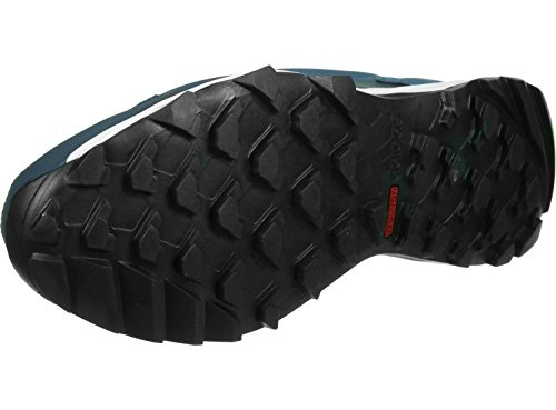 adidas Unisex-Erwachsene Kanadia 7 Tr W Laufschuhe, Blau Blau / Rot (Azumin / Maosno / Brisol)