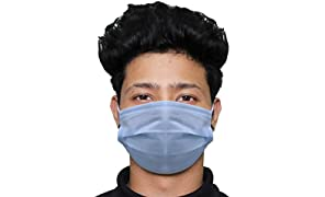 Pivalo PV0001 3 Ply Non Surgical Disposable Face Mask 25 GSM Unisex Nose Mouth Protection Cover with Non-woven Fabric for Women & Men (25 Pcs)