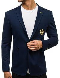 BOLF – Veston – Blazer – Élégant – Classique – Motif – Homme [4D4]