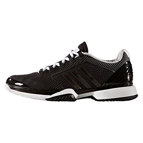 adidas Asmc Barricade 2016, Baskets Basses Femme Multicolore - Varios colores (Negro (Negro / Blanco / Oysgre))