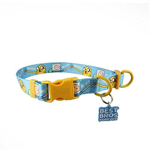 Adventure Time Best Bros! Adjustable Nylon Dog Collar: Medium