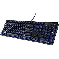 SteelSeries Apex M500 Gaming-Tastatur (Mechanisch, Cherry MX Rot-Schalter, Blaue Hintergrundbeleuchtung) - Deutsches Tastaturlayout