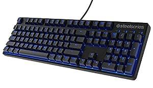 SteelSeries Apex M500, Clavier Gaming, Mécanique, Cherry MX Red, Rétroéclairage Bleu, (PC / Mac) - clavier  Français