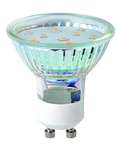 Action LED-SMD GU10_15LED Leuchtmittel, Volt 230 Watt 2,4, Höhe 5,8 cm, Durchmesser 5 cm, Kelvin 3000, Lumen 210 9705