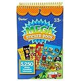 Better Crafts Sticker Book Mega Boy 5250Pc (6 Pack) (0Strk-12B0)