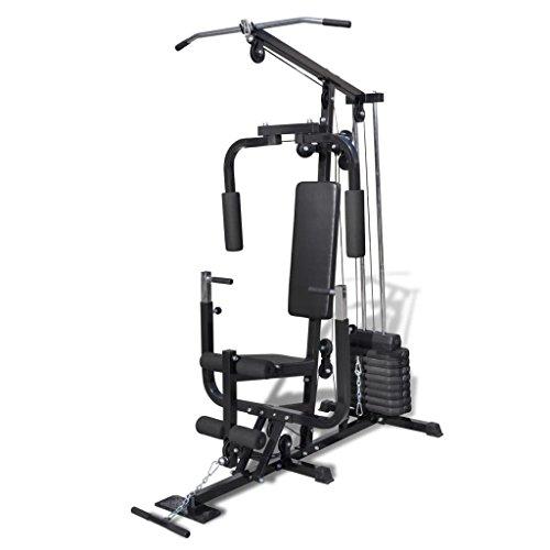 vidaXL Máquina de Fitness Multi Utensilio Gimnasio...