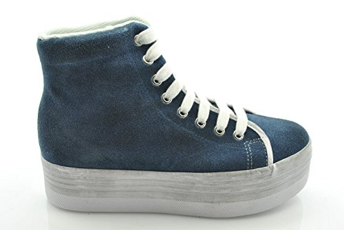 Jc Play by Jeffrey Campbell scarpe donna sneakers zeppa HOMG SUEDE WASH tg.41