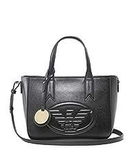 Idea Regalo - Emporio Armani Frida Small Eagle Logo Tote Bag One Size BLACK