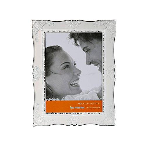 (524) 3D Bilderrahmen 13x18 Shabby Look Collage Fotos Fotogalerie Rahmen Antik Weiß