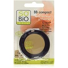 So'Bio ETIC Teint Compacto 5 BB en enero 02 Medium Beige 3.8g Lote 2