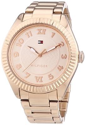Reloj Tommy Hilfiger Watches 1781344 de cuarzo para mujer, correa de acero inoxidable chapado color oro rosa de Tommy Hilfiger Watches