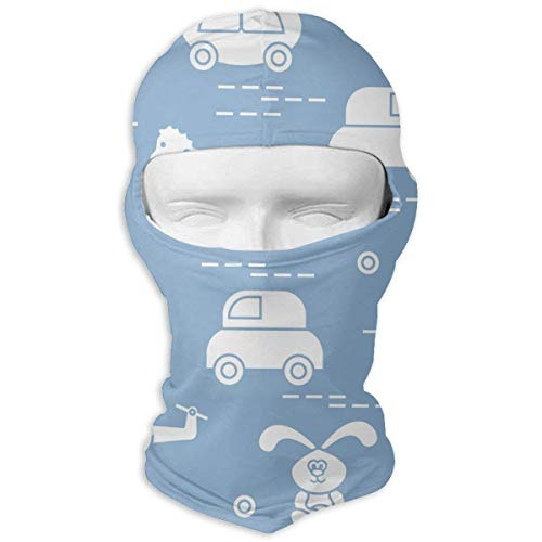 Jxrodekz Ski Mask Cockhorse and Rabbit Sun Customized Full Face Mask Motorcycling for Women and Men Tuff-dome