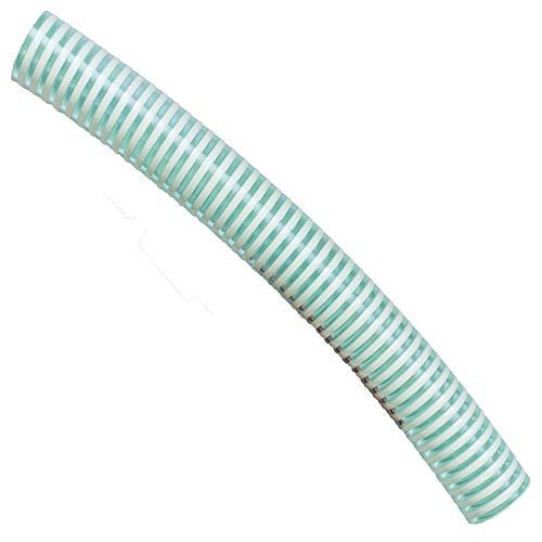 MegaHaustechnik SAUGSCHLAUCH 19 25 32 38 40 50mm Innendurchmesser max. 50m Rolle   Spiralschlauch Förderschlauch Pumpenschlauch grün > GRÖSSE + LÄNGE einfach auswählen >>> 38mm innen   Länge 25 Meter