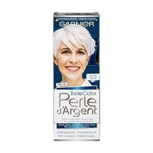 Garnier - perle d'argent - crème embellisseur de cheveux blancs - blanc nacre