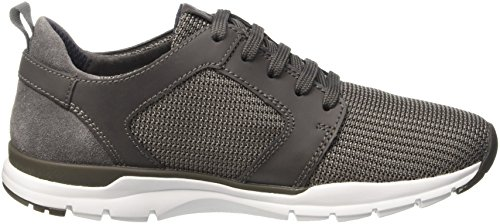 Geox U Calar B, Sneakers Basses Homme Gris (Anthracitec9004)