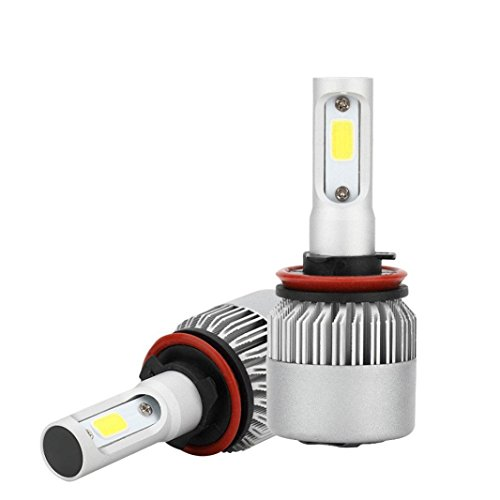 LCLrute Hohe Qualität H3 / H11 / H13 / 9004/9007/110 Watt 16000LM Led-scheinwerfer Conversion Kit Auto Strahler Lampe Fahren Lampe 6000 Karat (H11) (9004 Conversion Kit)