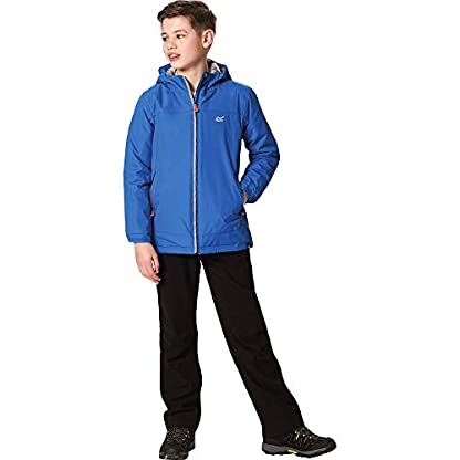 Regatta Children's Hurdle Ii Waterproof Insulated Hooded Jacket 3
