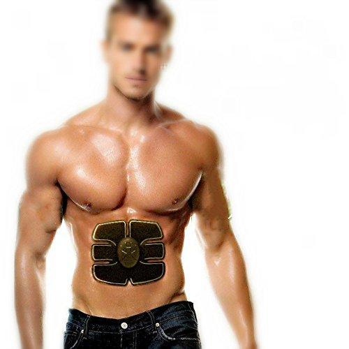 ZIME Bauchmuskeln Toner, Ultimate ABS Training Gear, Elektronische Muskel System für Bauch - Ideal Home/Office Fitnesscenter, Just Fettverbrennung mit uns jetzt.