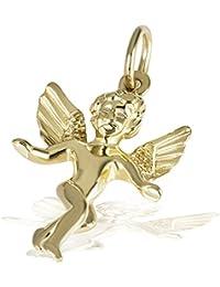 Goldmaid Damen-Anhänger Engel 375 Gelbgold Schmuck