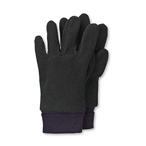 Sterntaler Jungen Handschuhe Fingerhandschuh, Gr. 2, Schwarz (schwarz 590)