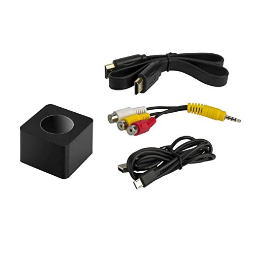 Gugutogo AV + HDMI + RJ45 2.4G & 5G Wireless LAN Anzeige Dongle Q2 Wireless-Display-Adapter Mirroring