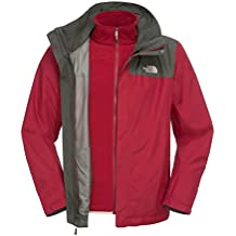 The North Face - Cazadora de esquí para hombre Rojo Biking Red Talla:medium