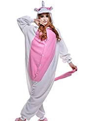 Costume Deguisement Unisexe Combinaison Pyjama Adultes/chaussons Animal Polaire