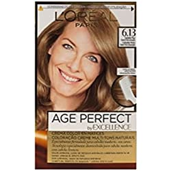 L'Oréal Paris Excellence Age Perfect Coloración permanente, Tono: 6.13