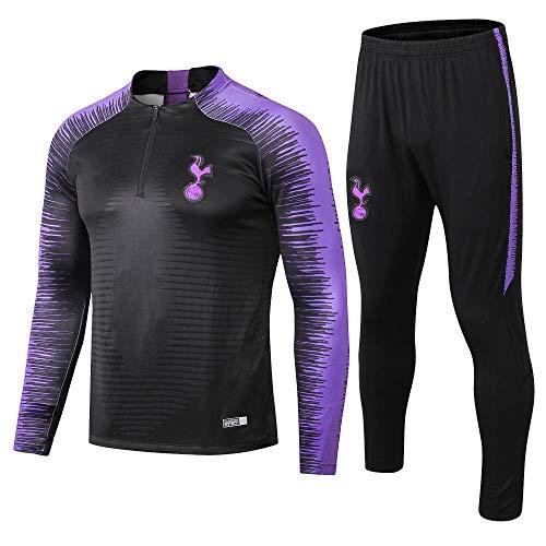 zhaojiexiaodian Fußball-Trainingsanzug Tottenham Half Pull Adult Club Sportswear-Anzug Uniform, L