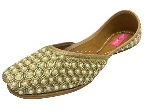 Step n Style Women Khussa Shoes Pakistani Jutti Bridal Shoes Indian Sare...