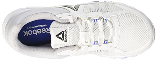Reebok Herren Yourflex Train 9.0 MT Hallenschuhe Weiß (White/vital Blue/cloud Grey)