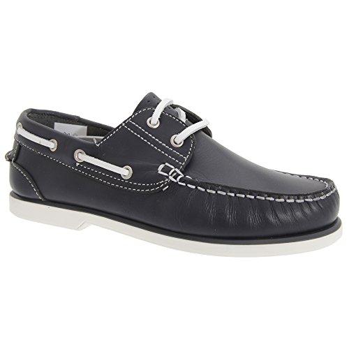 Dek - Chaussures bateau - Garçon Bleu Marine