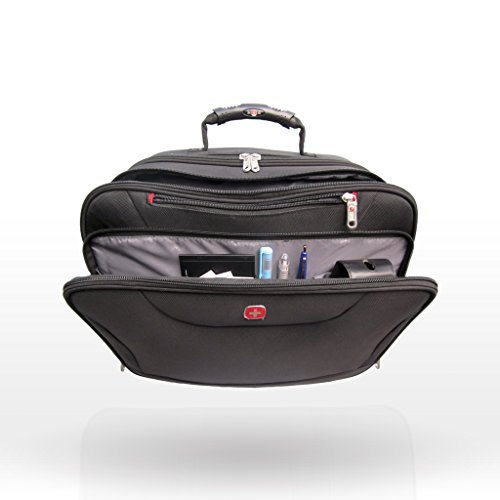 Best swiss gear bags in India 2020 Swiss Gear 10 Ltrs Black Softsided Briefcase (87732253) Image 3