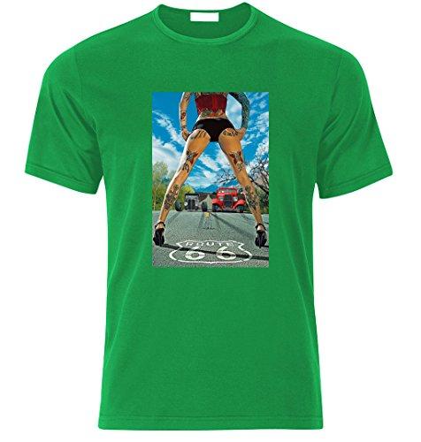 Fruit of the Loom -  T-shirt - Uomo Verde