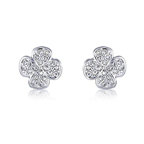 Lucky Earrings - Four Leaf Clover Stud Earrings - arrives in a Pretty Keeps Sake Gift Bag.