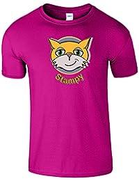 Stampy Gesicht Hommes Femmes Dames T-Shirt Komisch Geschenk