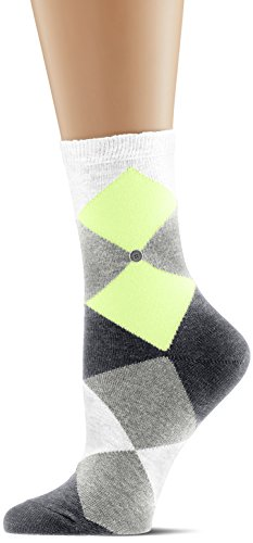 Burlington Damen Socken Neon Bonnie, Mehrfarbig (White 2000), 36/41