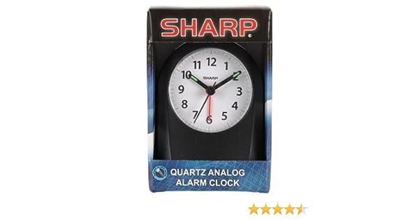 Sharp Quartz Analog Alarm Clock SPC828A