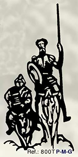 Rustiluz Escultura Don quijote 800t 60 x 55 cm