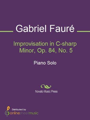 Improvisation in C-sharp Minor, Op. 84, No. 5